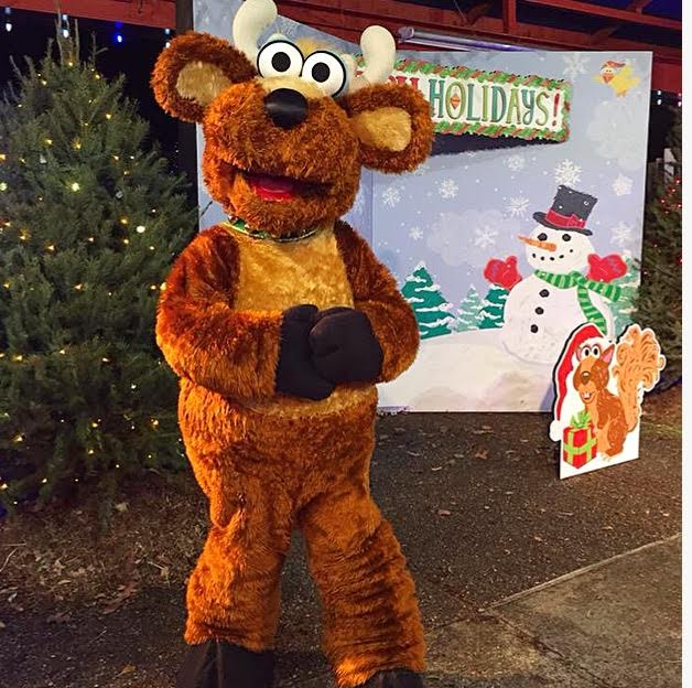 during a very furry christmas the park has a ton of holiday extras to enjoy that make this season a great time to visit for both first time guests like - Furry Christmas