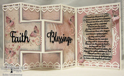 Our Daily Bread Designs, The Beatitudes, Butterfly & Bugs, Faith-Hope-Love, Many Blessings, Ornate Ovals, Butterfly & Bugs, Deco Border, Shabby Rose Collection, By Robin Clendenning
