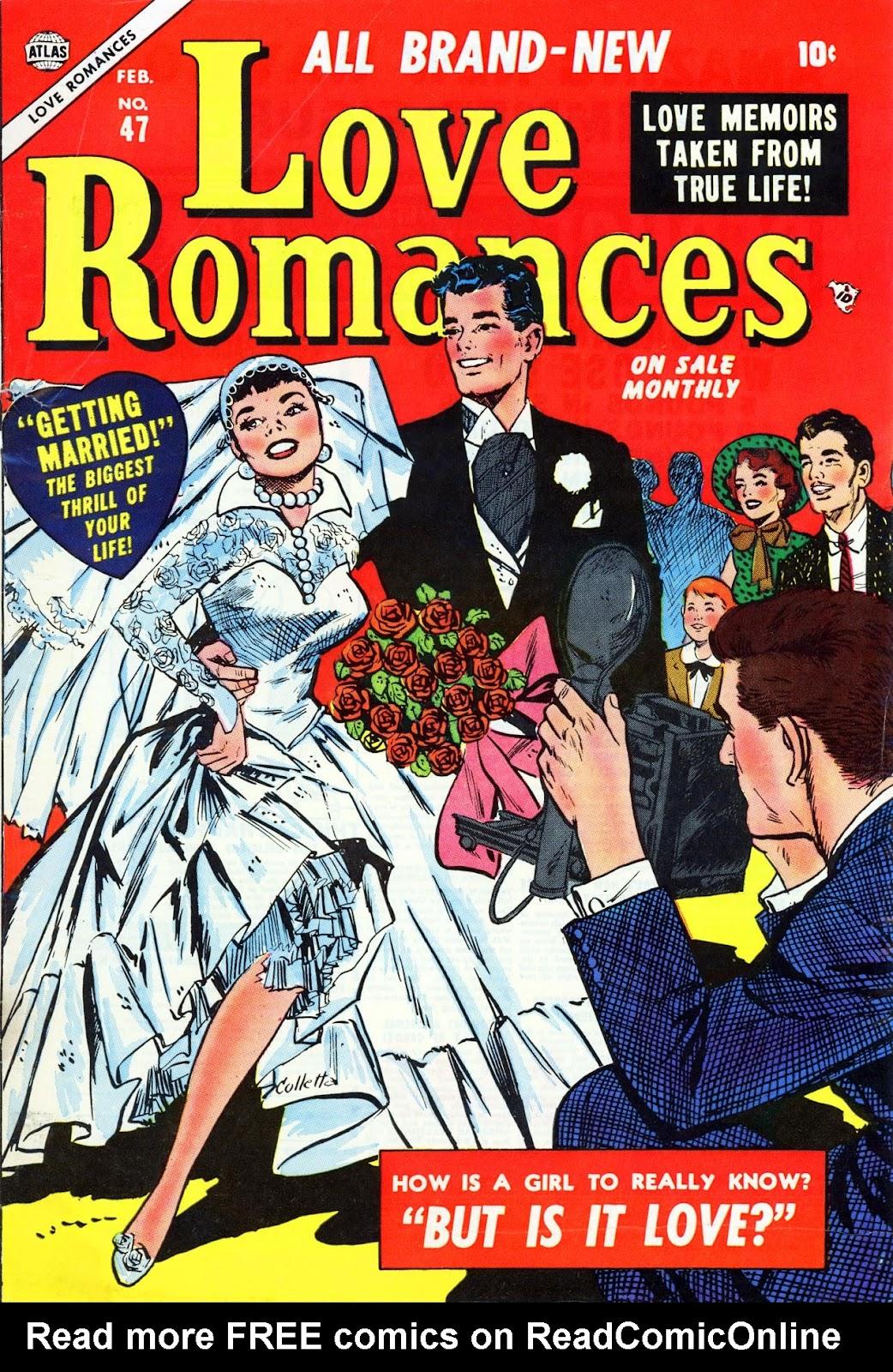 Love Romances (1949) issue 47 - Page 1