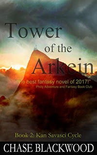 Tower of the Arkein - Epic Fantasy by Chase Blackwood