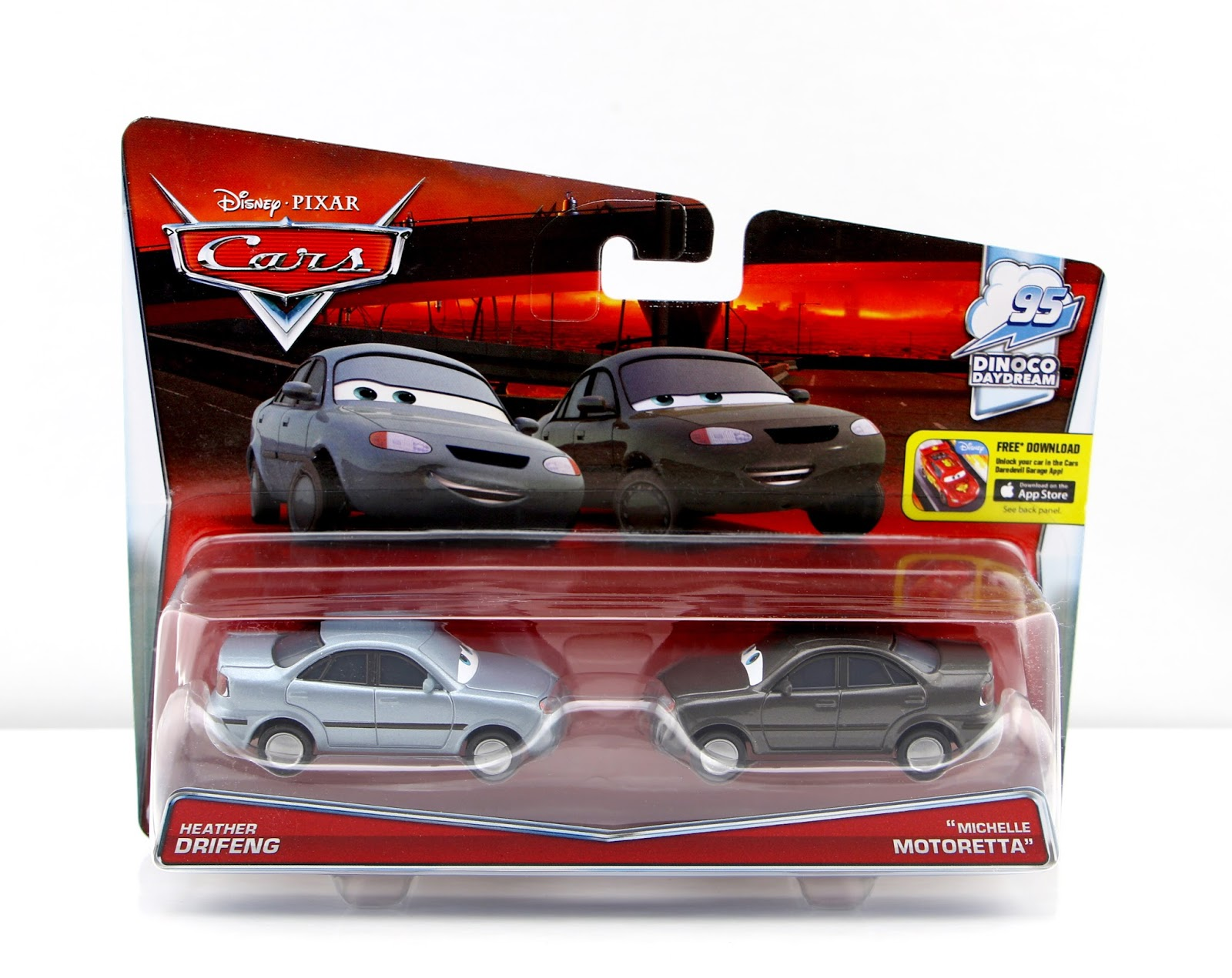 "Cars Heather Drifeng and ""Michelle Motoretta"" (2-Pack)"
