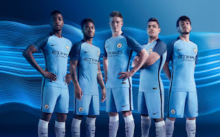 Manchester City Home Kit 2016/17