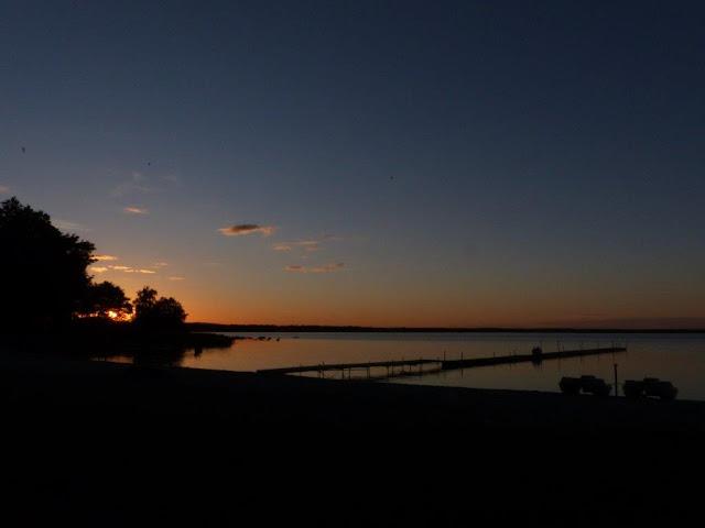 Sölvesborg Camping Schweden Reise Urlaub mit Hund Meer Sonnenuntergang