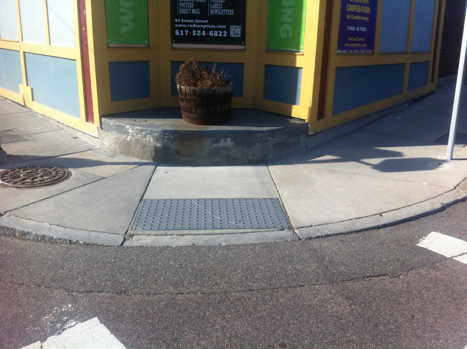 Calm Streets Boston Ada Curb Ramps