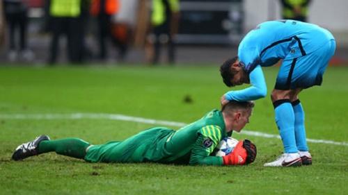 Thủ môn Ter Stegen đã có một màn thi đấu ấn tượng trong trận đấu với Arsenal
