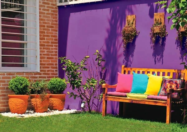 Ideas Colorful To Decorate Exterior 2