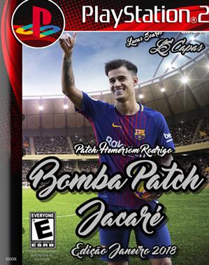 Bomba Patch JACARÉ 2018 (PS2) Janeiro 2018