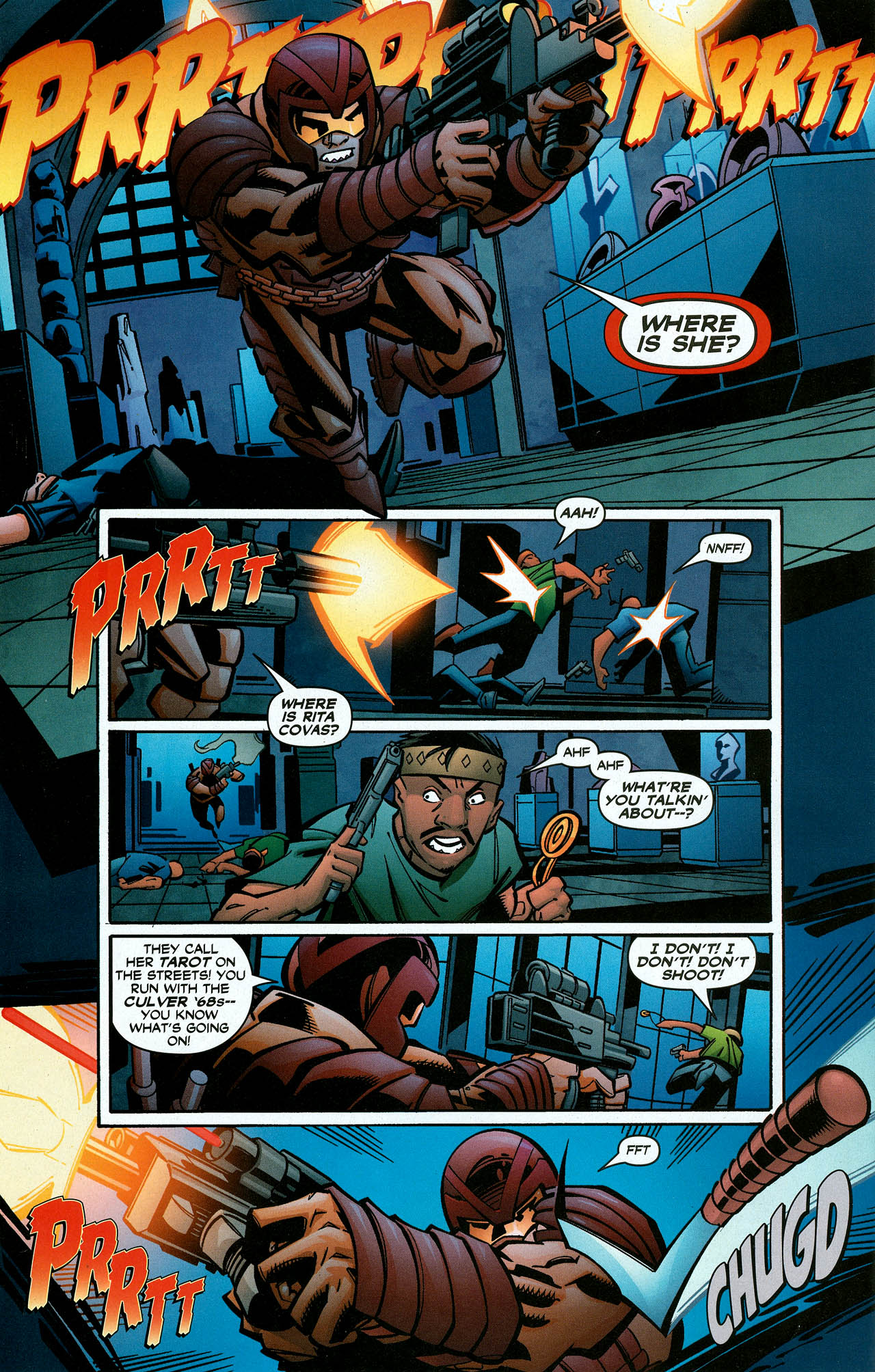 Read online Trinity (2008) comic -  Issue #6 - 24
