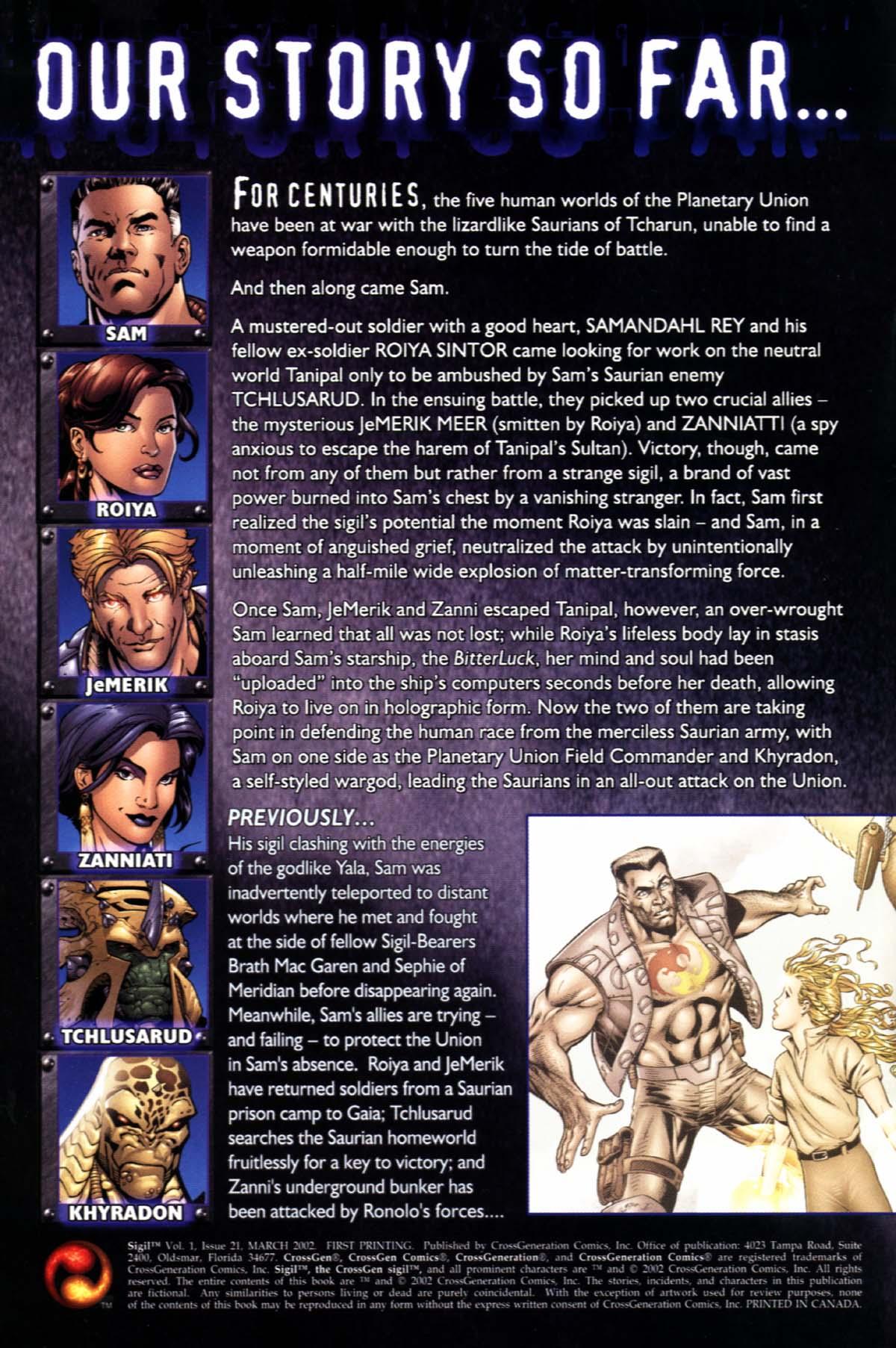 Read online Sigil (2000) comic -  Issue #21 - 2