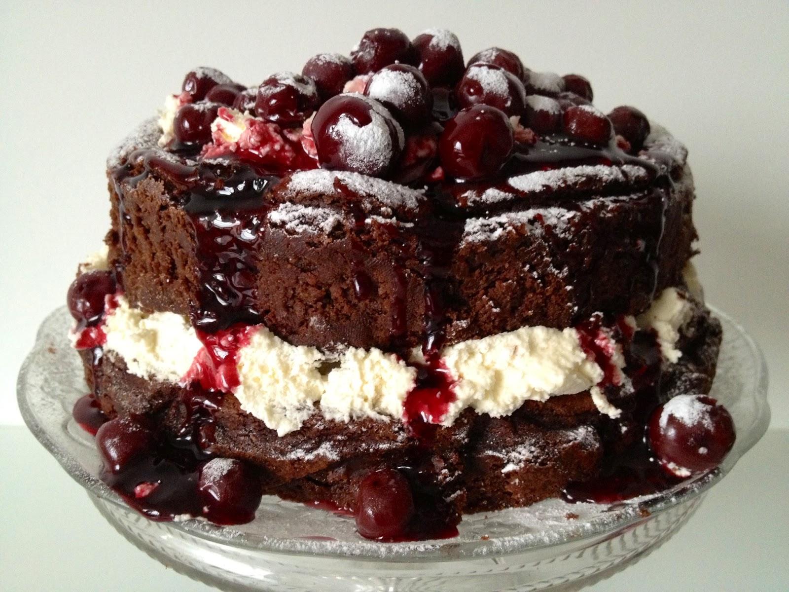 Flourless Chocolate Truffle Cake Recipe Donna Hay
