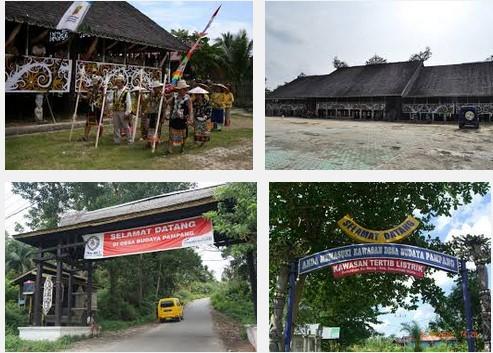 Desa Budaya Pampang samarinda
