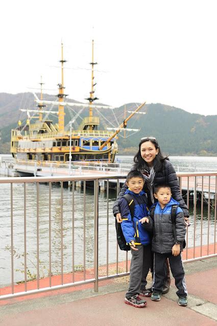 Lake Ashi boat ride