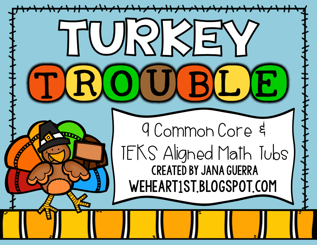 http://www.teacherspayteachers.com/Product/Turkey-Trouble-November-Math-Tubs-CCSS-TEKS-Aligned-1532359