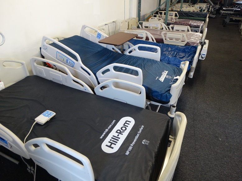 used refurbished hill rom careassist es hospital beds for sale medical beds refurbished san diego california