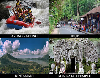 These are pick of combination opportunity tour of rafting at Ayung river as well as joyful sights BaliTourismMap: AYUNG RAFTING COMBINATION TOUR