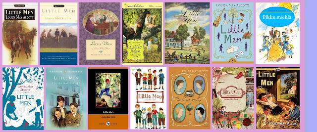 Portadas del libro Hombrecitos, de Louisa May Alcott