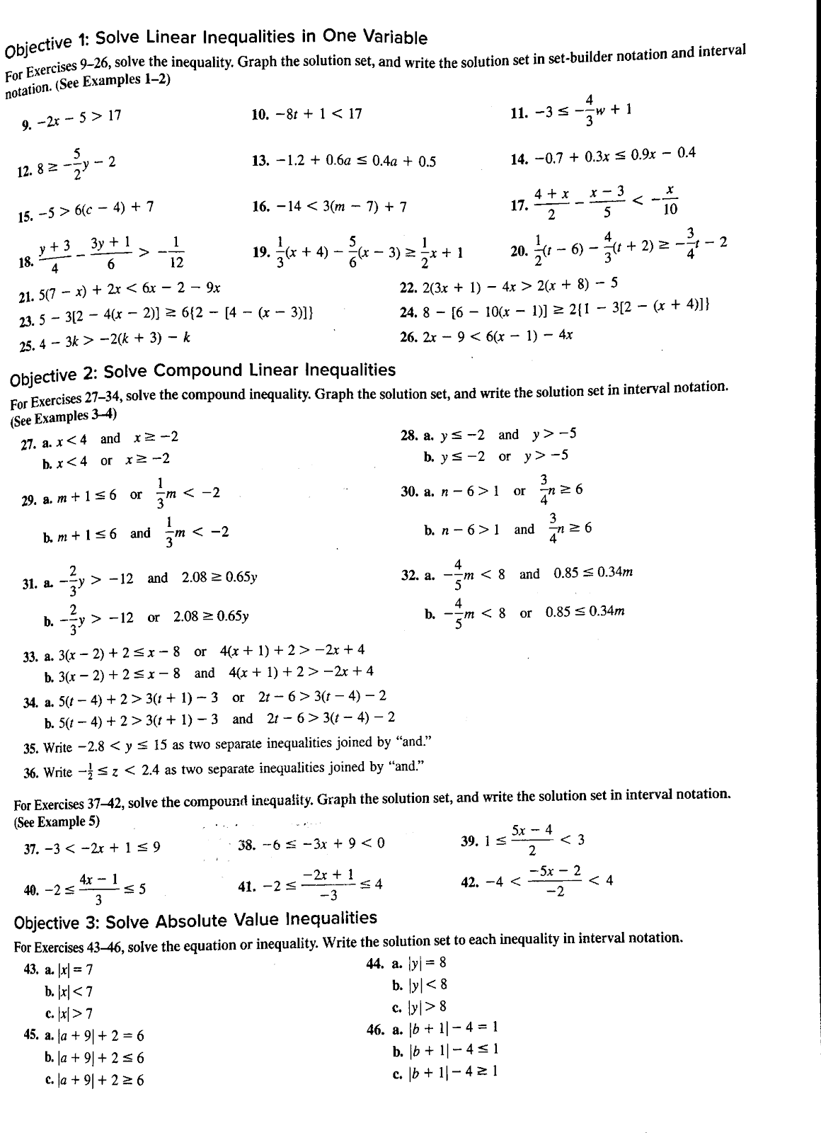 Mr Camire S Math Class Elementary Functions Chapter 1