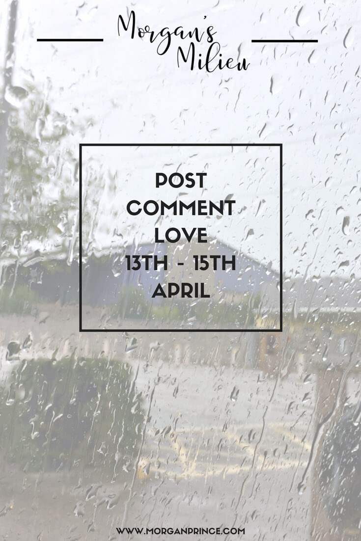 Post Comment Love with Stephanie and I - we can't wait to read your best posts of the week! Come join us.