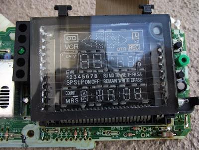Display de videocassete