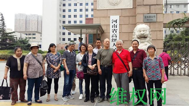洛阳权春梅诉公安局行政拘留案,再审在河南高院开庭(图)