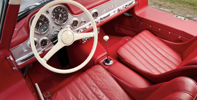 1995 Mercedes-Benz 300 SL Alloy Gullwing Interior