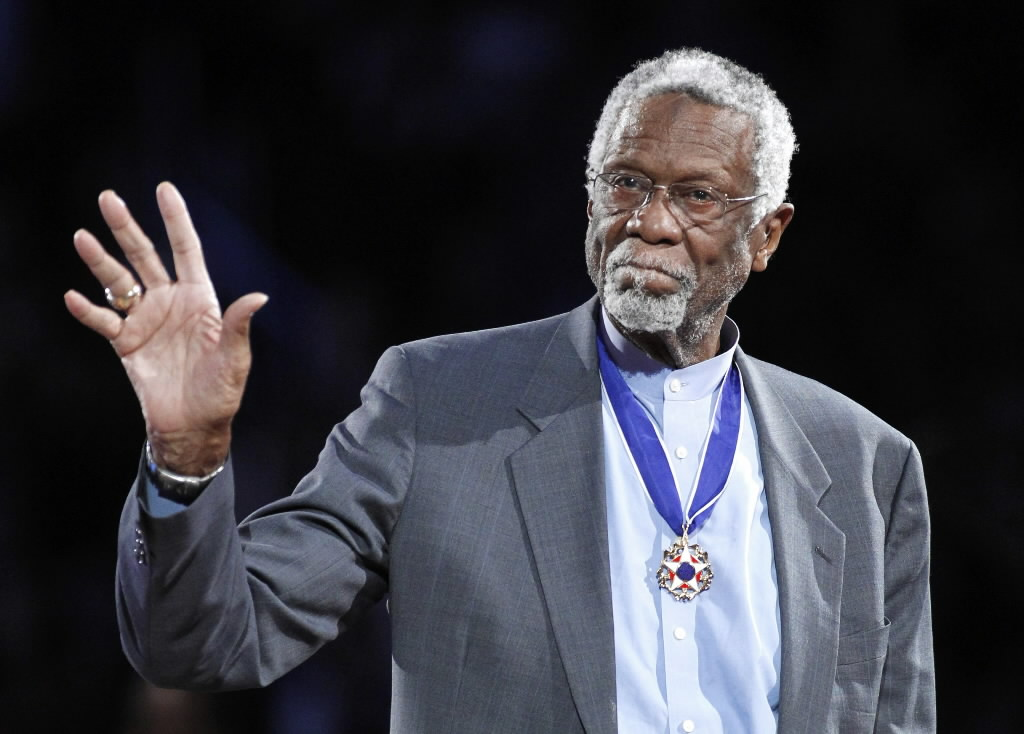 Bill Russell Flips Off Fellow Hall of Famer Charles Barkley On Live TV