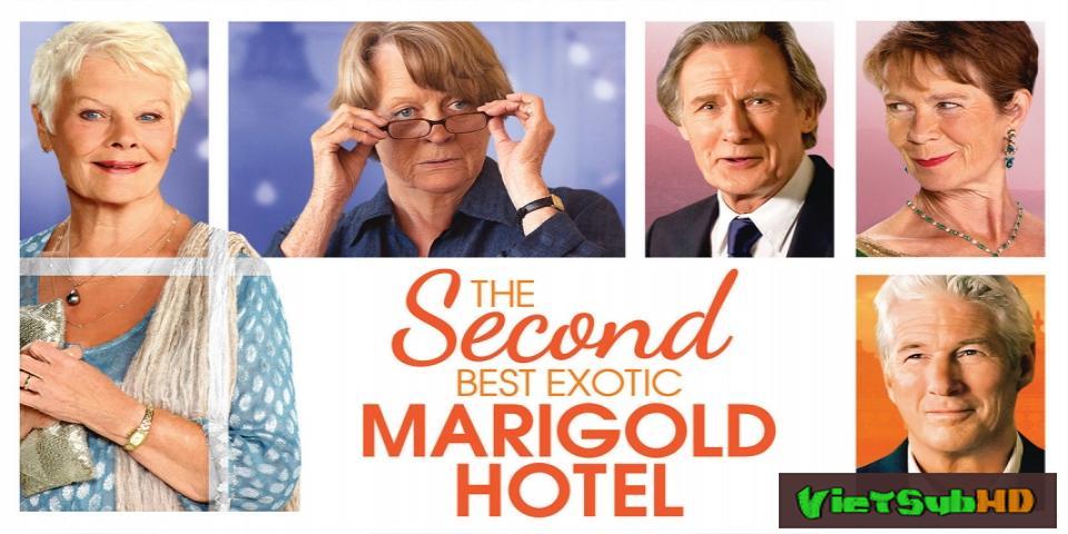 Phim Khách Sạn Hoa Cúc Vàng Nhiệt Đới VietSub HD | The Second Best Exotic Marigold Hotel 2015