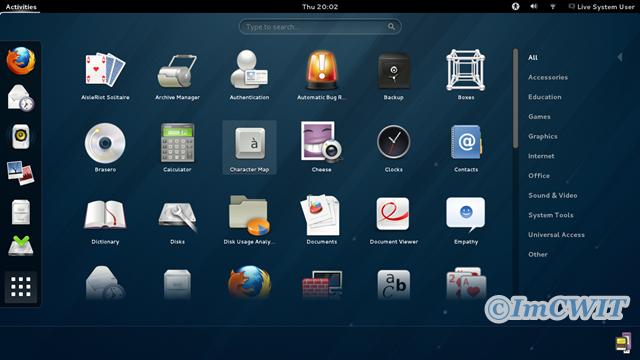 Free Download Fedora v19.0 x86/x64 -Menu