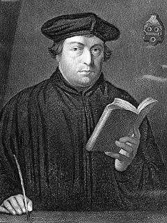 Martin Luther cu penița în mână - imagine preluată de pe site-ul http://content.time.com
