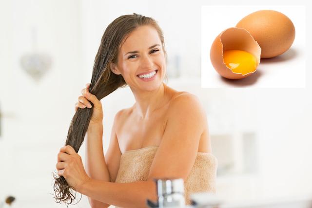 Propiedades del huevo en el cabello
