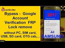 Google Verification (FRP Lock) Bypass Tool Software Free Download