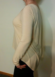 Creates Sew Slow: SP #195 Apricot Sweater