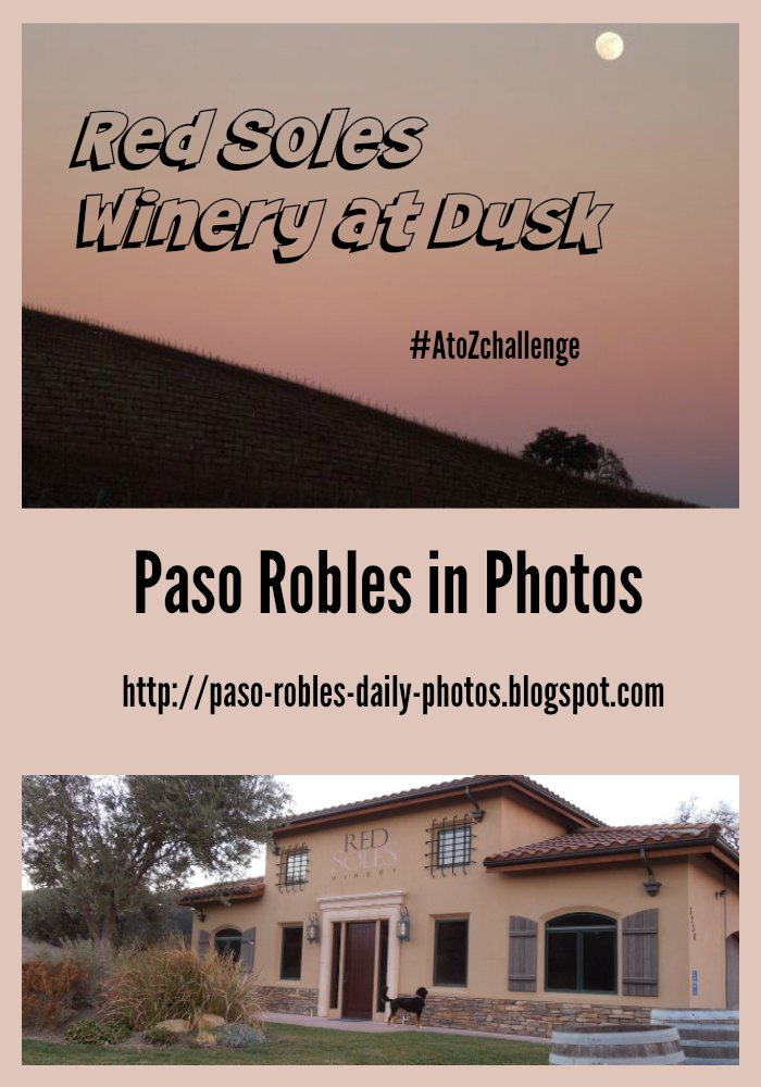 Red Soles Winery at Dusk