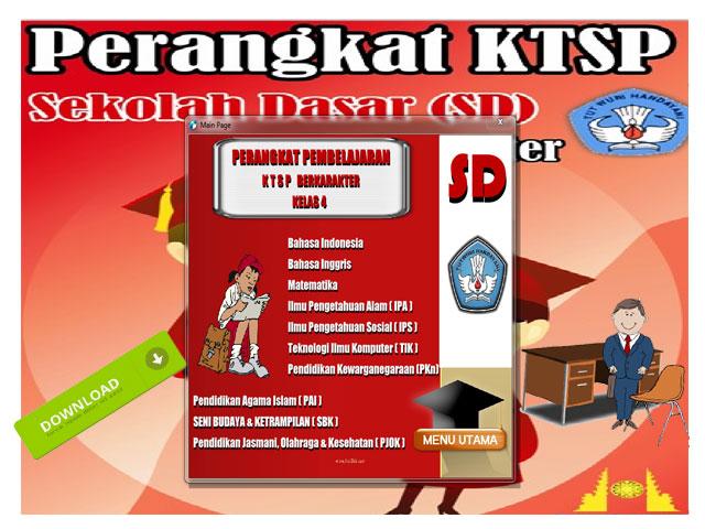 Perangkat KTSP SD Kelas 4 Mapel PJOK