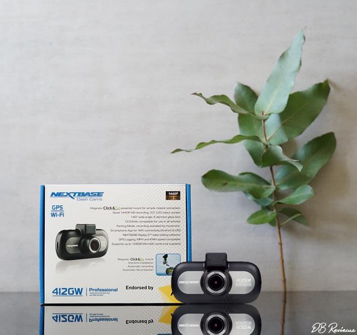 Nextbase 412GW professional dash cam