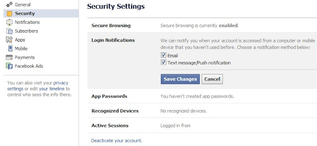 How to Know if Someone Else Logged In to Your Facebook Account