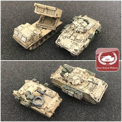 M113A3 M3A2 M2A2 MLRS