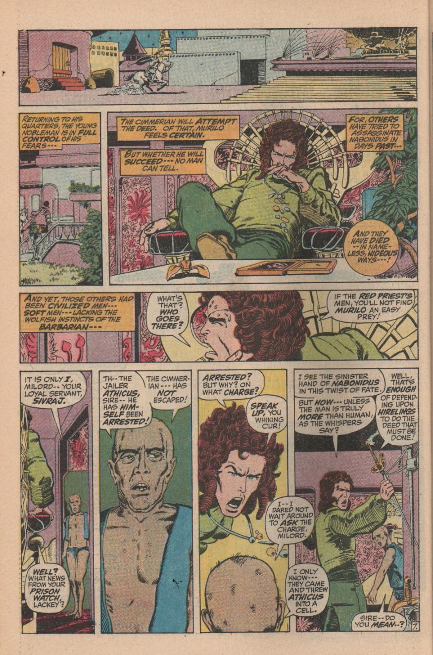 Conan the Barbarian (1970) Issue #11 #23 - English 10