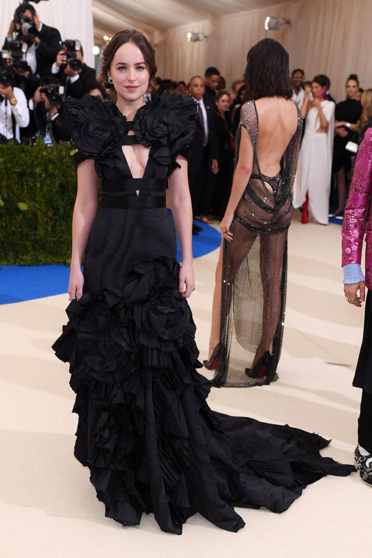 Dakota Johnson en Gucci.