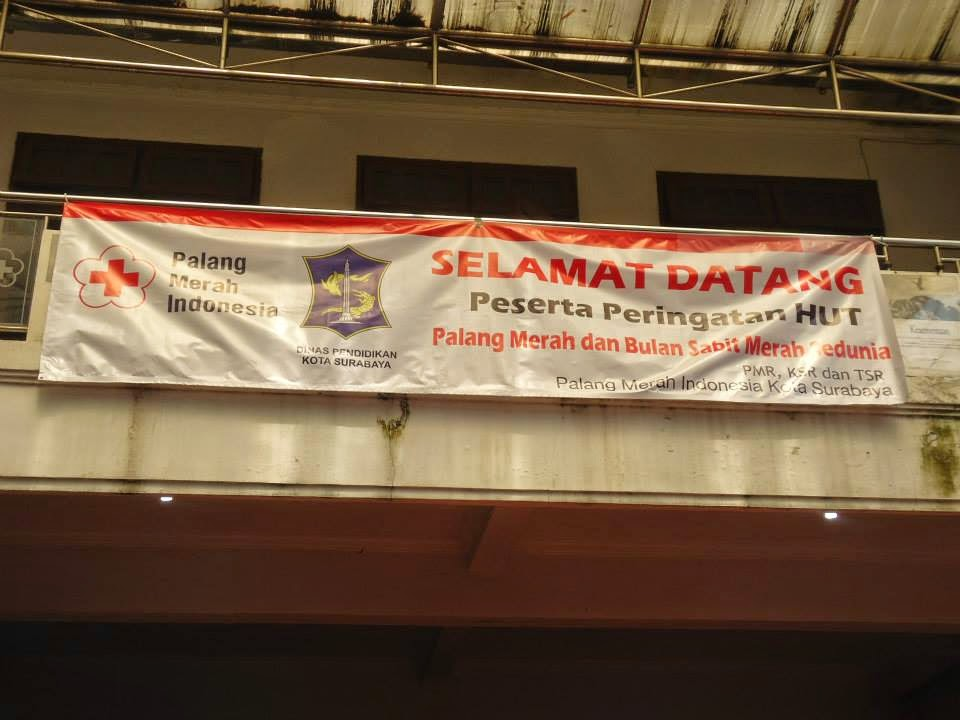 Peringatan Hari Palang Merah dan Bulan Sabit Merah Internasional 2014 | UKM KSR PMI ITS SURABAYA