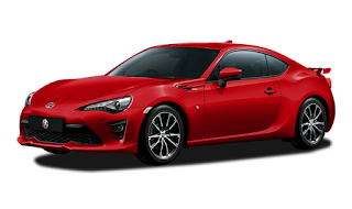 Toyota FT 86 Warna Pure Red
