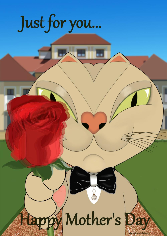 Keratoconus Cartoon: Happy Mother's Day!