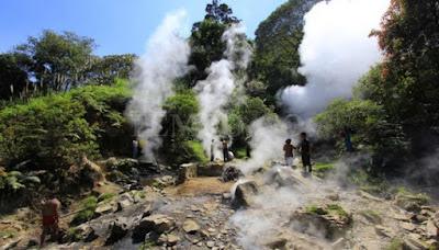 Tempat Wisata di Garut yang populer Kawah Kamojang
