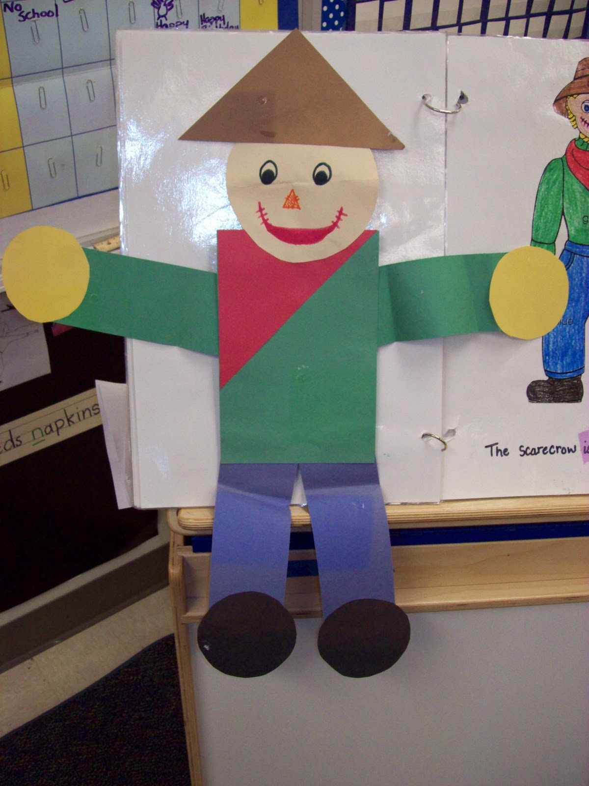 Kinder Garden: Chalk Talk: A Kindergarten Blog: Scarecrows