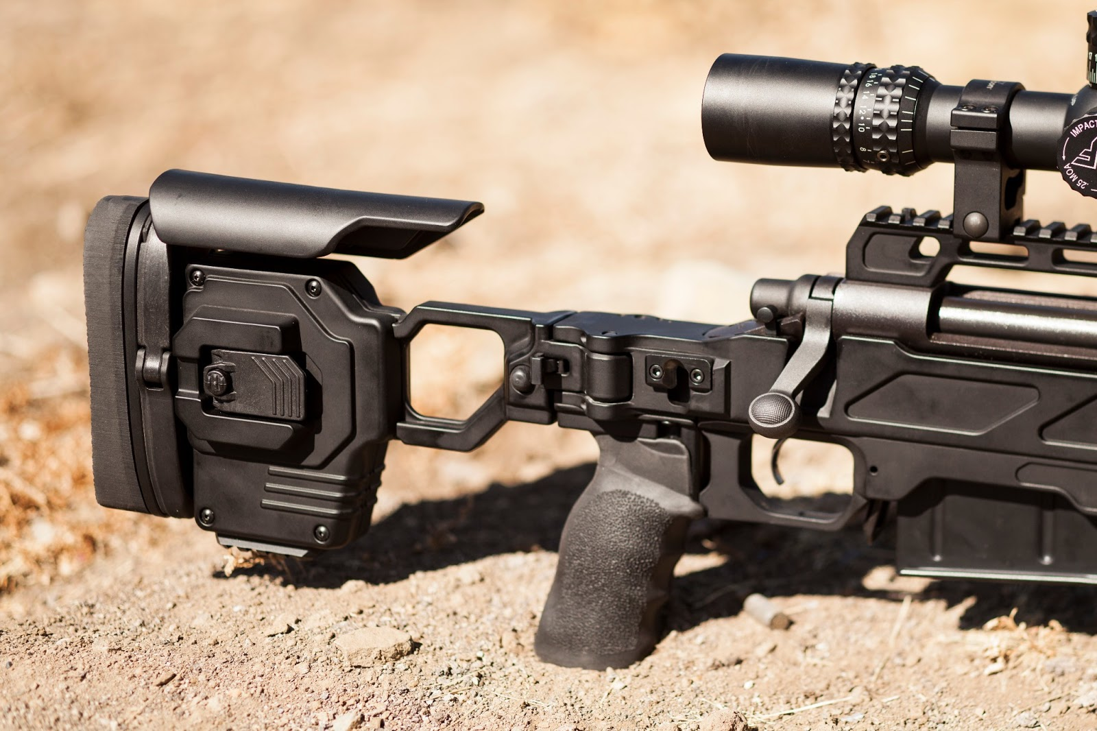 Full Of Weapons: CADEX Strike 33 Gen 2 Sniper Chassis System