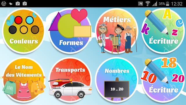 Votre enfant apprendra le français tout en s'amusant avec Alphabet Français