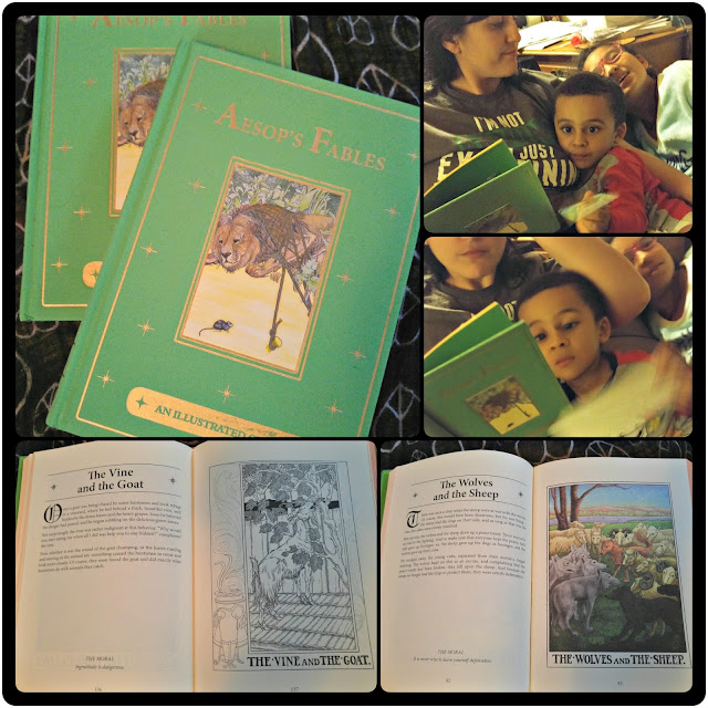 Aesop's Fables Canterbury Illustrated Classics