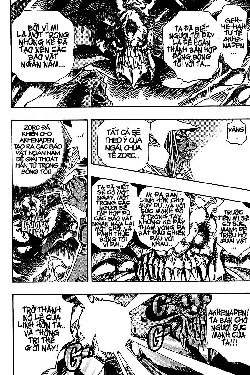 YUGI-OH! chap 321 - thần bóng tối thức tỉnh trang 11