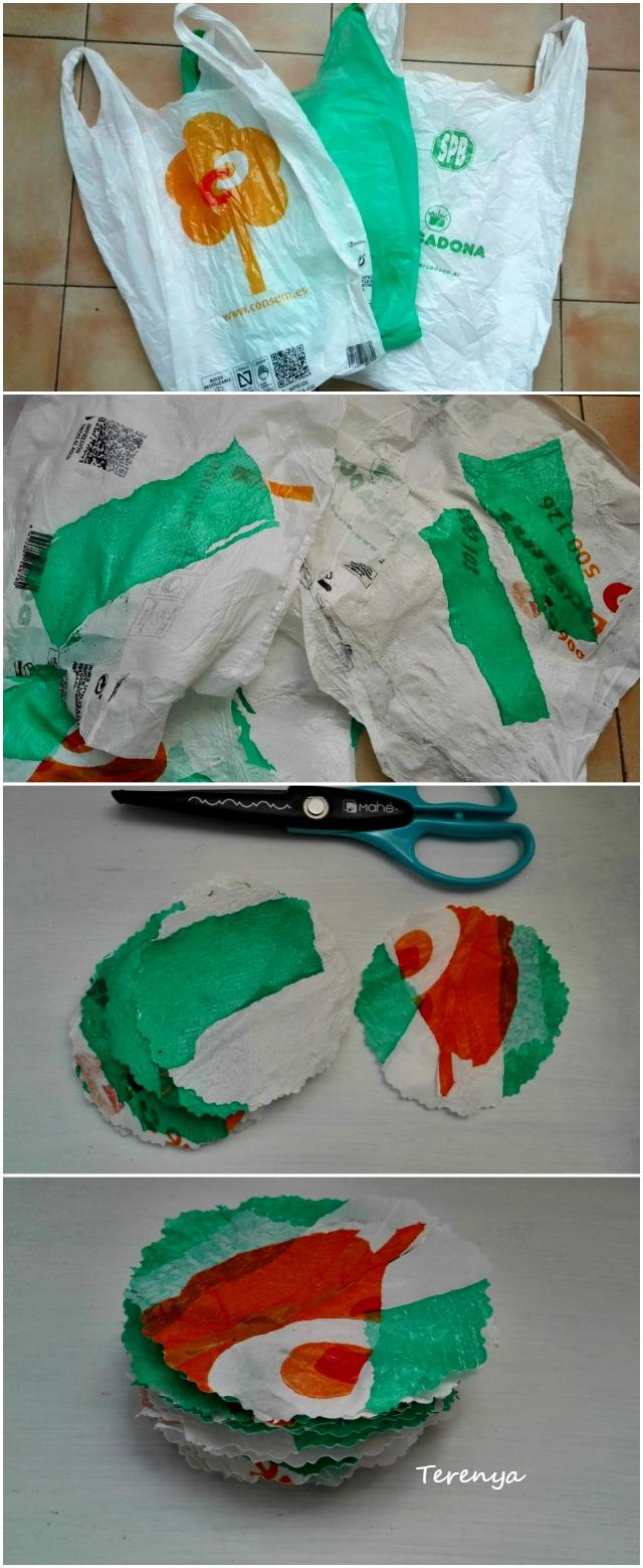 como-hacer-posavasos-con-bolsas-plastico