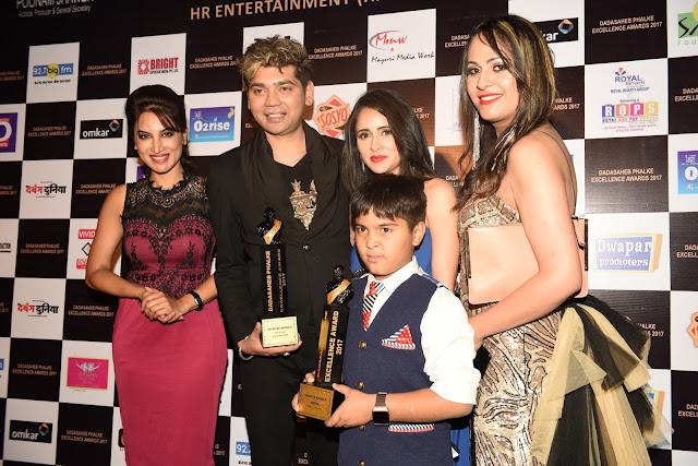 Smita Gondkar, Vivek Mishra, Master Kabir, Shweta Khanduri with Shaini
